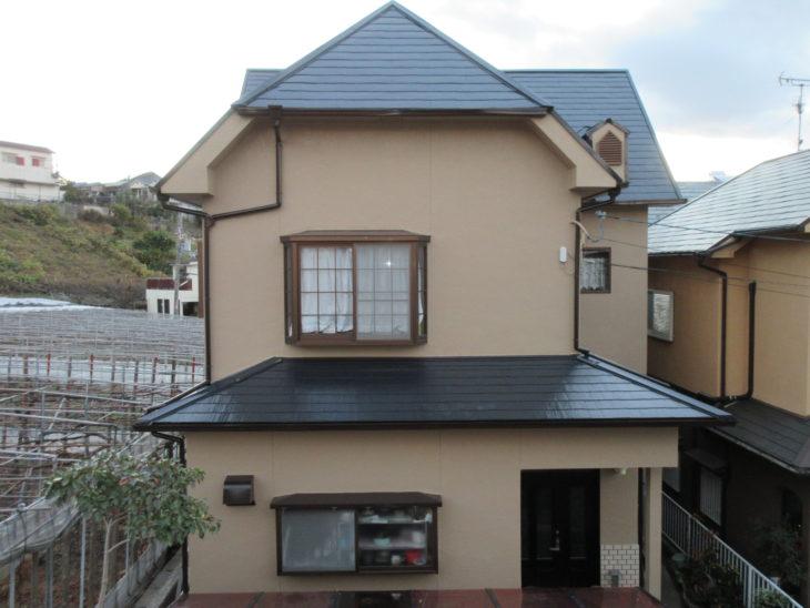 柏原市 K様邸 外壁・屋根 塗装工事 事例