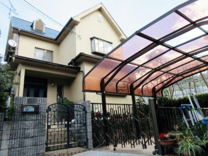 柏原市 H様邸 外壁・屋根 塗装工事 事例