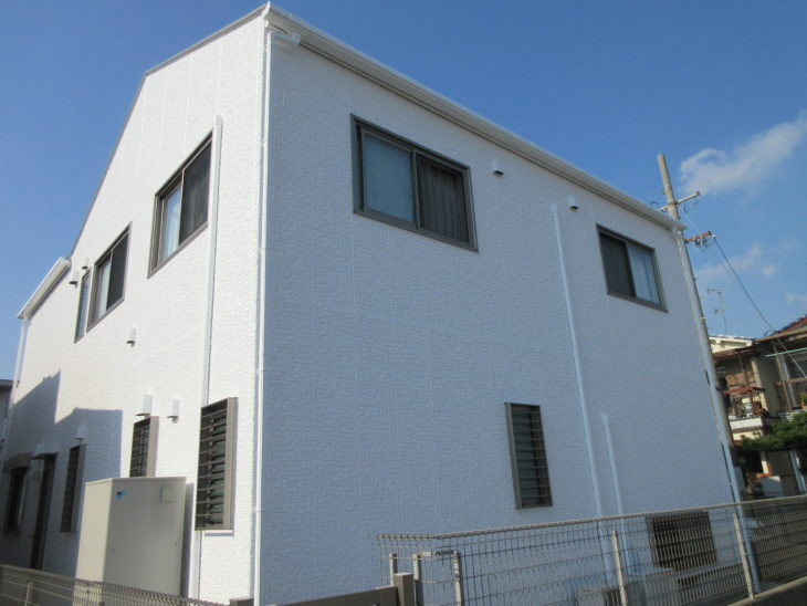 堺市 西区 浜寺 Y様邸 外壁・屋根塗装工事 事例