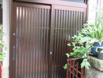 八尾市 高美町 S様邸 玄関ドア取り替え工事 事例