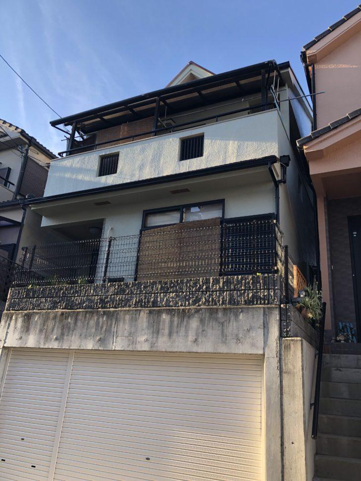 堺市  西区   鳳東町 I様邸 外壁・屋根施工事例