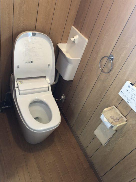 堺市 堺区 榎元町5丁 H様邸 トイレ取り替え工事