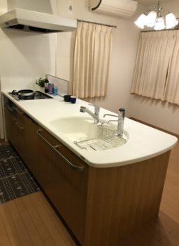 堺市 北区 北花田町 S様邸 キッチン取り替え工事 施工事例